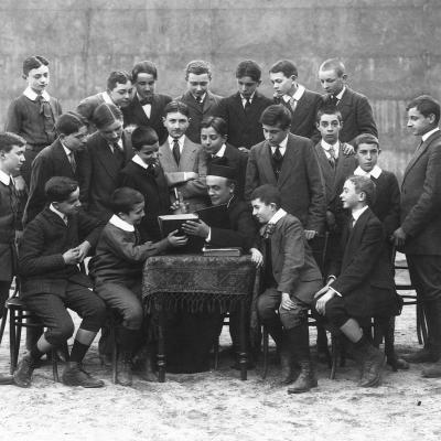 La classe de Philosophie 1911-12