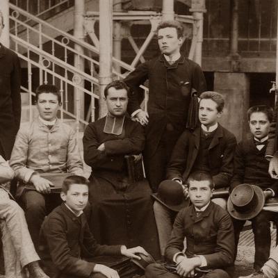 Quelques pionniers avec M. L'abbé Joseph Genevet en 1885