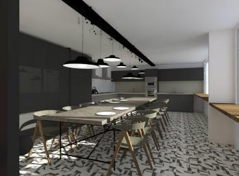 Projet pour la nouvelle cuisine
