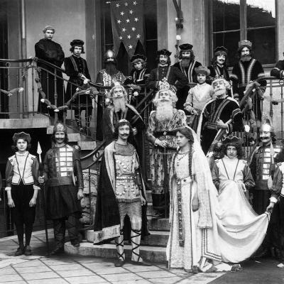 Une représentation en costume
