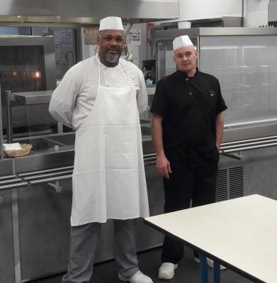 Max Uri et Eric Genevrier, nos chefs de choc en cuisine !